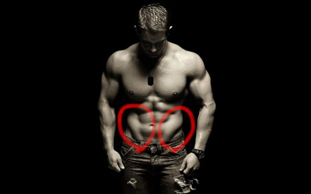 見ると鍛えたくなる、びっくりするくらいカッコいい腹筋や少し変わった腹筋画像集