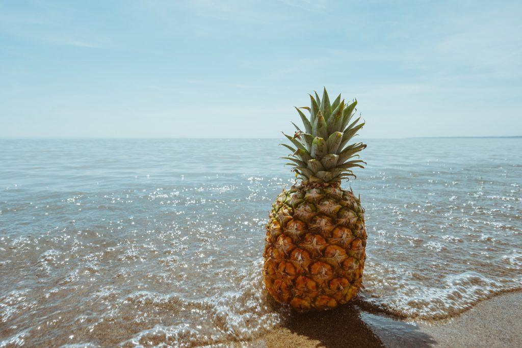 ローファットダイエットにおすすめの果物、パイナップル