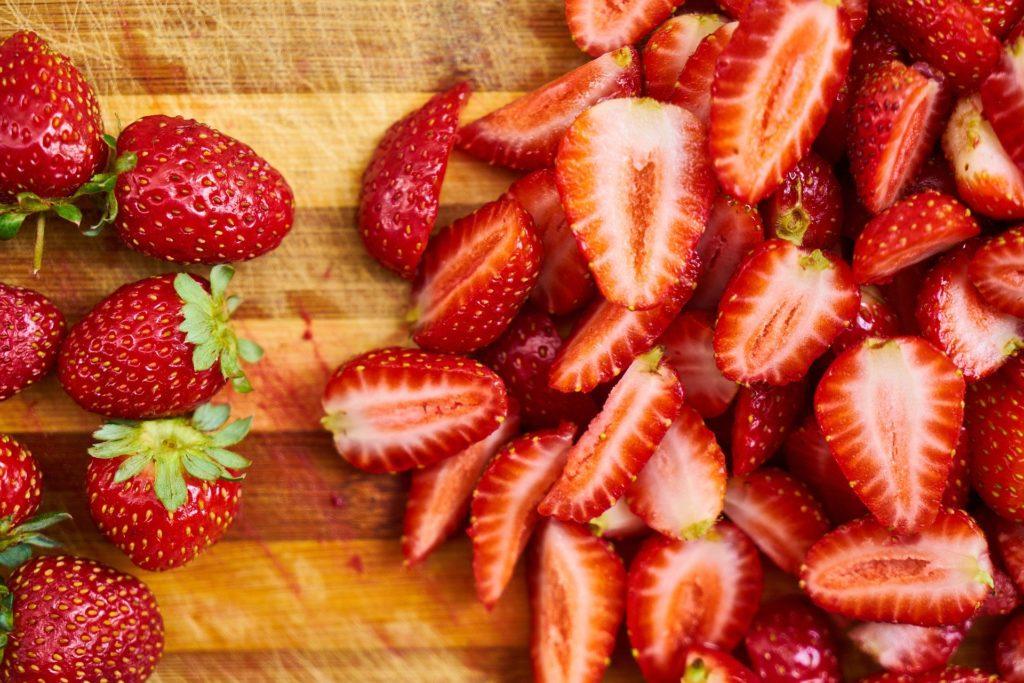 ローファットダイエットにおすすめの果物、いちご