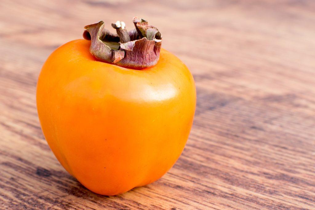 ローファットダイエットにおすすめの果物、柿